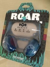 House of Marley Roar On-Ear Headphones with 1 Button Controller & Mic - Navy