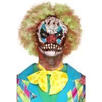 Foam Látex Payaso Cabeza Prostético Máscara de Payaso Terror Halloween Disfraz