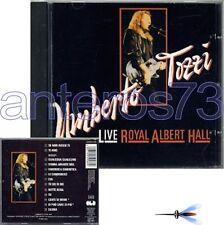 "UMBERTO TOZZI ""LIVE ROYAL"" RARO CD GERMANIA AUTOGRAFATO"