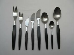 Retro Gense Sweden Focus de Luxe cutlery knives forks spoons Folke Arstrom 1950s