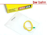 Brawa 3286 Kabelbirne mit 1 Kabel grün 16 V 30 mA Glühbirne Neu
