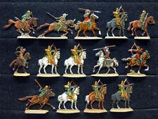 14 Zinnfiguren Persien Perser Reiterei Kavallerie 30mm bemalt