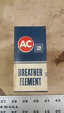 NEW NOS FB-59 AC Delco Breather Element 60's 70's GM # 6484966