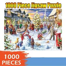 1000Pcs Jigsaw Puzzle For Adults Kids Christmas Tree Puzzle Game Toys Home Decor