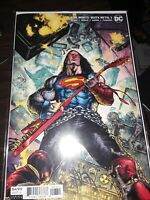 DARK NIGHTS DEATH METAL #3 1:25 MAHNKE VARIANT COVER 1ST PRINT NM IN HAND!!