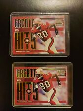 1998 Leaf Rookies & Stars Greatest Hits #13 Jerry Rice /2500 Lot of 2