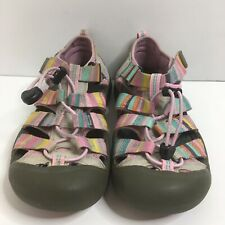 Keen Newport H2 Girl Size 3 Youth Waterproof Water Shoes Sandals Multicolor