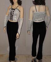 Try Dance Costume Sequin Top w// Boy Short Unitard Tap Color CHOICE Child /& Adult