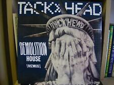 "TACKHEAD RECORD demolition house remix 12"""