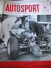Autosport March 15th 1963 *Le Mans Entry List & Jaguar Mark Ten & Lotus 29*