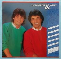 ALBERT HAMMOND / ALBERT WEST ~  HAMMOND & WEST ~ 1987 GERMAN 10-TRACK VINYL LP