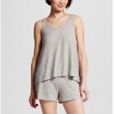 4da87166ec Gilligan   O Malley Womens Pajamas Short Set - Heather Gray - Size Small