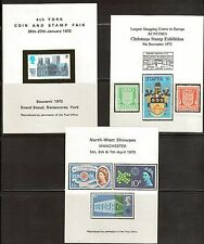 Great Britain Various Reproduction Souvenir Sheets. (7) Mh. Og. #02 Gbss7