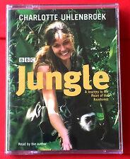 Charlotte Uhlenbroek Reads Jungle 2-Tape Audio NEW SEALED Travel/Animals/Nature