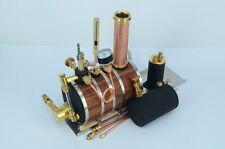 Horizontal steam boiler models with Steam whistle For Marine Steam Engine