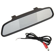"4.3 ""TFT LCD Display Monitor rearview mirror rearview mirror AUTO CAR DVD AV  BT"
