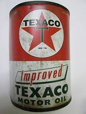 TEXICO MOTOR OIL CAN TIN WALL SIGN HOME DECOR,GARAGE VINTAGE LOOK MANCAVE GIFT