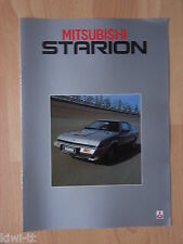 Mitsubishi Starion 2000 Turbo / Turbo EX Prospekt / Brochure, NL, 4.1982