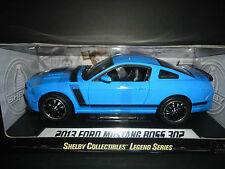 Shelby Collectibles Ford Mustang Boss 302 2013 Blue 1/18
