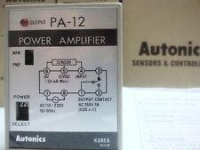 Sensor Controller Autonics PA12 NPN & PNP Relay output 110 / 220VAC