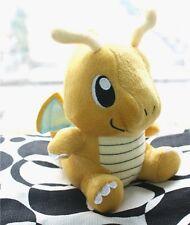 "Pokemon Center Figure Dragonite Stuffed Toy 6.5"" dual-type Kairyu Dragon Doll"