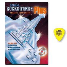 Schule der Rockgitarre Plus mit 2 CDs, Dunlop Plektrum - 9783940297907