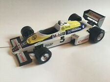 Burago 6105 Canon Mobil 1 Williams Honda FW 08 Formula F1 Racing Car 1/24 Scale