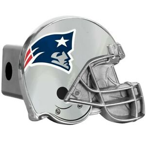 """NEW ENGLAND PATRIOTS METAL HELMET NFLTOW HITCH COVER car/truck/suv trailer 2"""""""