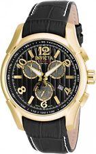 @NEW Invicta Reserve Specialty Swiss COSC Quartz Chronometer Leather Strap 16942