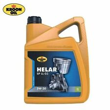 OLIO MOTORE KROON OIL ORIGINALE HELAR 5W-30 SP LL-03 LT.5 - 33088 ACEA C3 12 TOP
