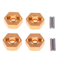 4Pcs 12mm Aluminum Wheel Hex Nut With Pins Drive Hubs 4P HSP 102042 1/10 BH