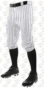Champro Triple Crown Adult Knicker Pinstripe Baseball Softball Pants NEW BPPINK