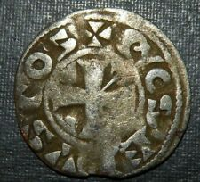 Medieval Silver Coin Lot 1100's Ad Crusader Templar Cross Ancient Middle Ages!