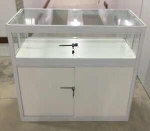 Foldable Counter Glass Cabinet For Display, Showcase, Exhibition etc