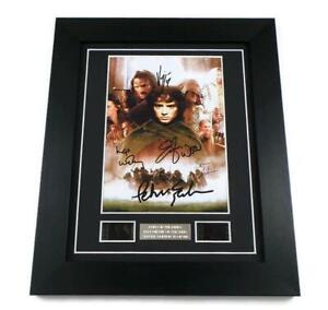 LORD OF THE RINGS FILM CELL Signed PREPRINT FELLOWSHIP OF THE RING MEMORABILIA