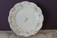 """HAVILAND LIMOGES FRANCE 8-1/2"""" SCALLOPED LUNCHEON PLATE(s) -  THE PRINCESS"""
