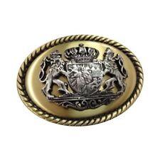 Zierteil Zierschnalle Metall Trachten für ca 15 mm Breite Gold oder Silber