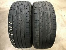 PAIR OF TWO (2) 245/40/19 94Y PIRELLI P ZERO RUN FLAT TIRES WITH FREE SHIPPING!