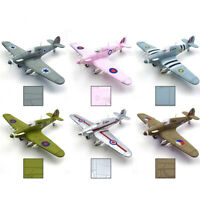 1Pcs Random Color Hurricane Fighter WW2 Fighter Plastic Assemble Model Kit 1/48