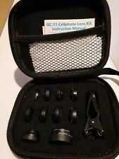 Godefa 11 in 1 Gc-11 Cellphone Lens Kit with Wide Macro Fisheye