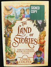 "Chris Colfer Signed ""Land Of Stories"" 2018 First Edition Hardcover Book"