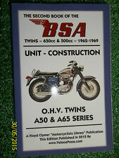 BSA A50 A65 TWINS STAR THUNDERBOLT WASP CYCLONE HORNET SPITFIRE + MANUAL 1962-69