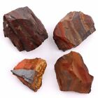 "1""-1.2"" Rough Crystal Red Tiger Iron Jasper Natural Healing Stone Large 1pc"