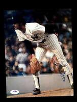 Ron Guidry PSA DNA Coa Signed 8x10 Vintage 70`s Yankees Photo Autograph