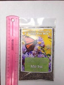 Monarch Butterfly & Honey Bee Pollinator Flower Mix 1/8th# Bag By Sharp Bros.