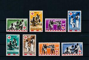 D173552 Rwanda MNH Red Cross 1963