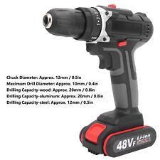 Multifunctional Electric Screwdriver Rechargeable Cordless Hand Electric Drill