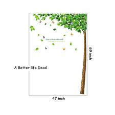 LOT of 10 sheets of Butterfly in Tree Wall Decal Decor for Living room  SC15