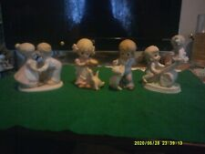 """New ListingAssorted Homco Figurines, Including """"Masterpiece Circle of Friends"""" First Kiss"""