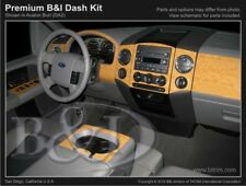 Dash Trim Kit for FORD F-150 04 05 06 07 08 carbon fiber wood aluminum